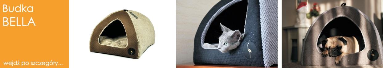 legowisko budka dla psa i kota bella lauren design