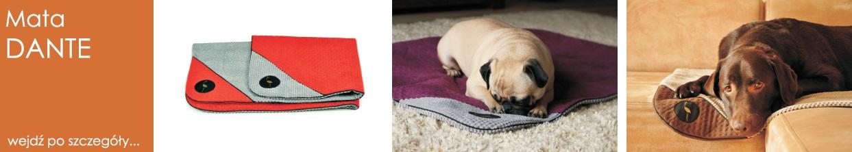 legowisko mata kocyk narzuta dla psa i kota dante lauren design