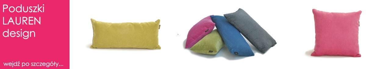 poduszki dekoracyjne lauren design