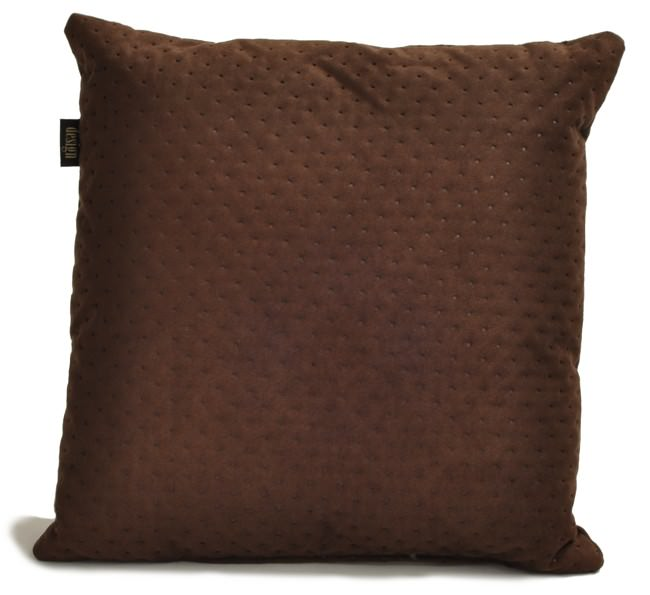 Poduszka brąz pikowany LAUREN design