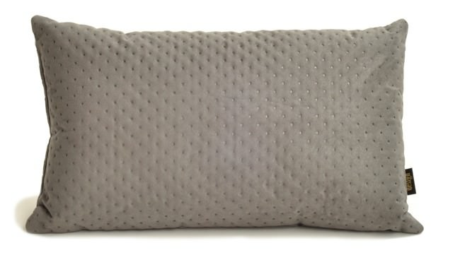 Poduszka szary pikowany LAUREN design