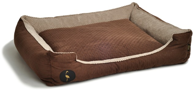 lauren design bed for dog and cat soft (2)