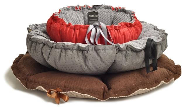 lauren design bed for dog cat luxury (3)