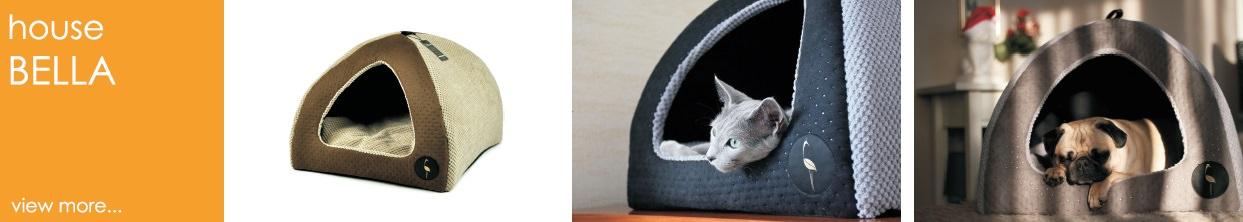 lauren design house for dog and cat bed bella