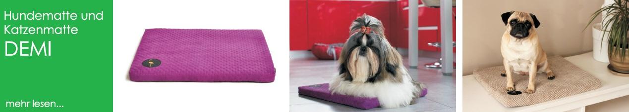 lauren design hundematte katzenmatte hundebett demi
