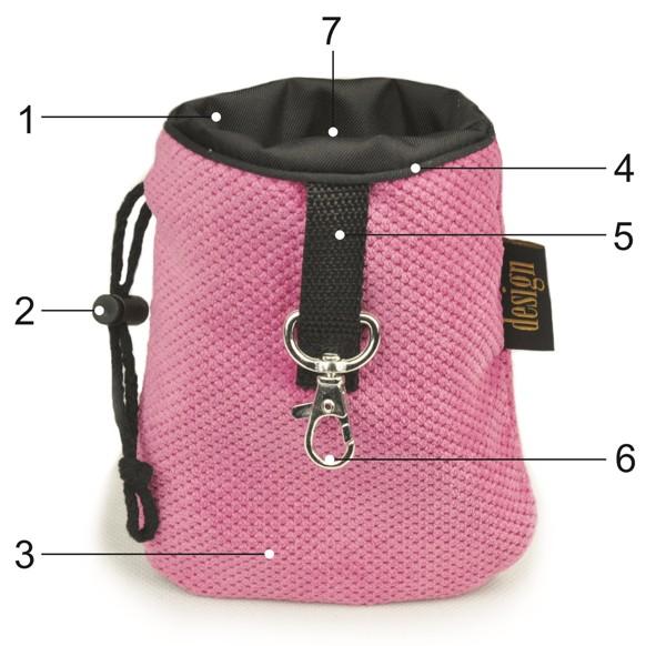 saszetka treningowa na smakołyki lauren design dla psa kota torba 1