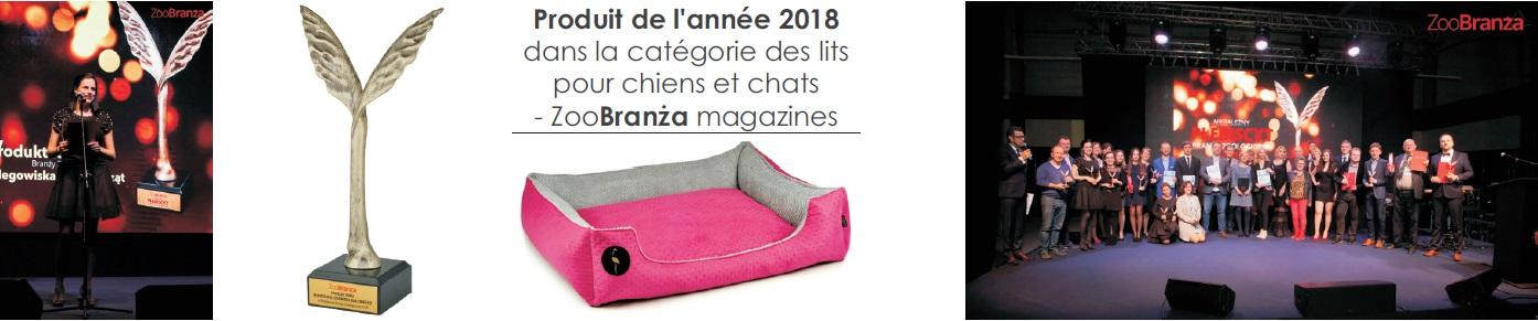 produit de l'annee lits pour chiens el chats lauren design