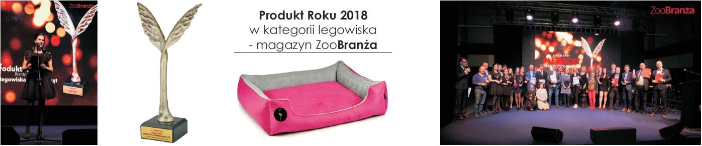 produkt roku 2018 zoobranża lauren design producent legowisk